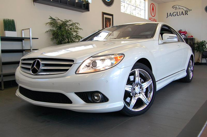 2010 MERCEDES CL550 4MATIC AWD Lorenzo Package 7 Speed Auto White Black This is a beautiful vehi