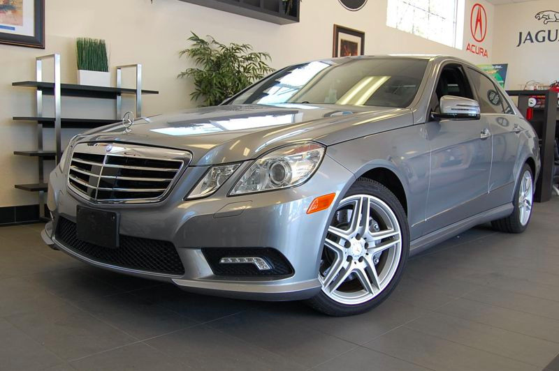 2011 MERCEDES E-Class E550 4Matic Sport Sedan 7 Speed Auto Silver Beige Comes with a clean Carfa