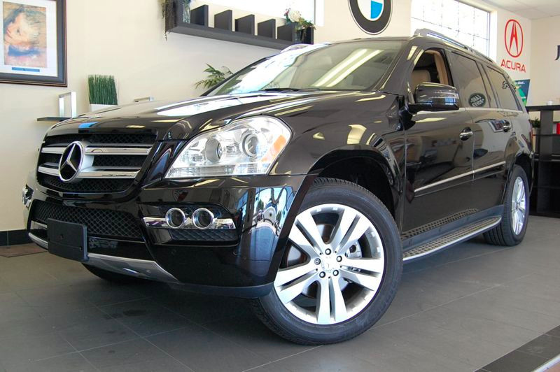 2011 MERCEDES GL-Class GL450 AWD  4MATIC 4dr SUV 7 Speed Auto Black Tan California owned with Na