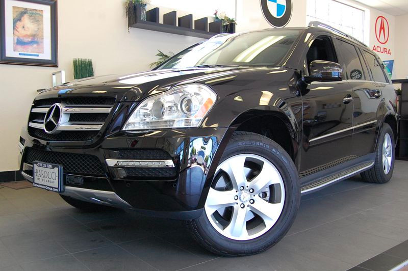 2012 MERCEDES GL-Class GL450 AWD  4MATIC 4dr SUV 7 Speed Auto Black Black Comes with a clean Car