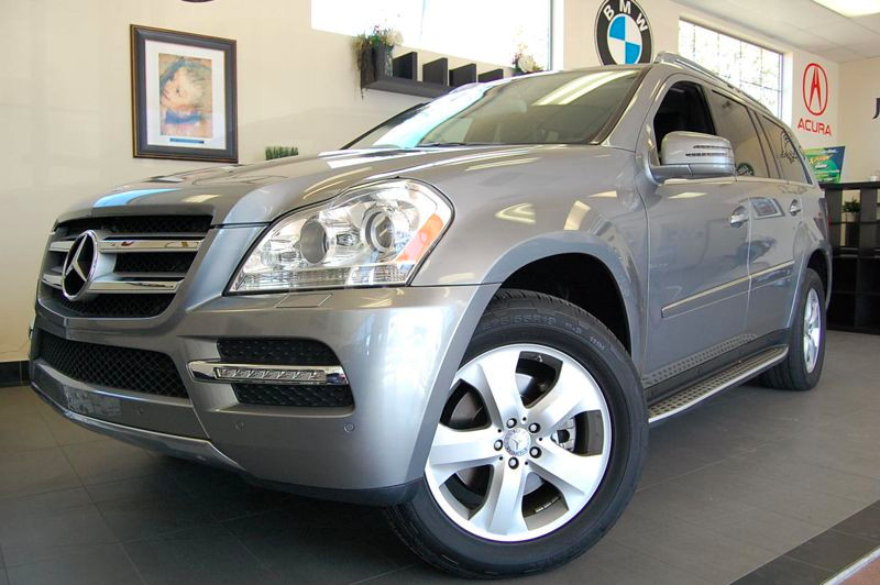 2012 MERCEDES GL-Class GL450 AWD 4MATIC 4dr SUV 7 Speed Auto Silver Charcoal California owned wi