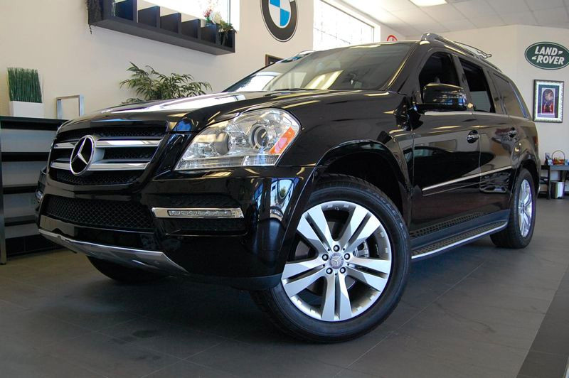 2012 MERCEDES GL-Class GL450 AWD  4MATIC 4dr SUV 7 Speed Auto Black Charcoal This Mercedes comes