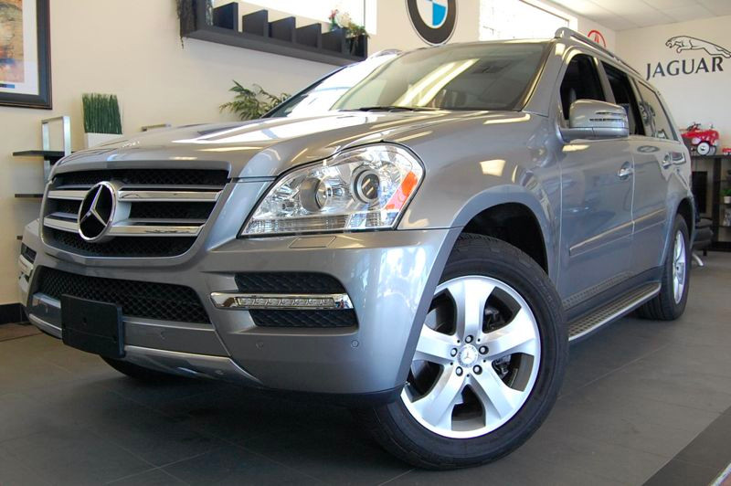2012 MERCEDES GL-Class GL450 AWD  4MATIC 4dr SUV 7 Speed Auto Gray Charcoal This Mercedes GL 450