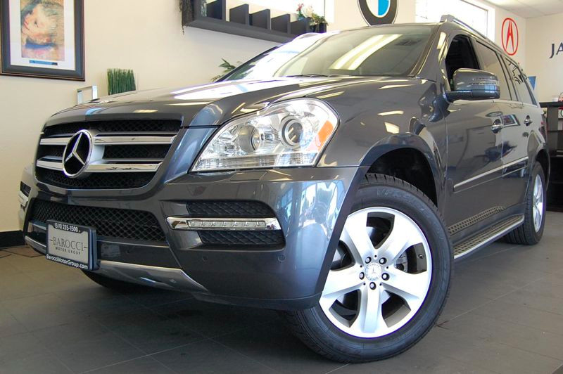 2012 MERCEDES GL-Class GL450 AWD  4MATIC 4dr SUV 7 Speed Auto Gray Charcoal California owned wit