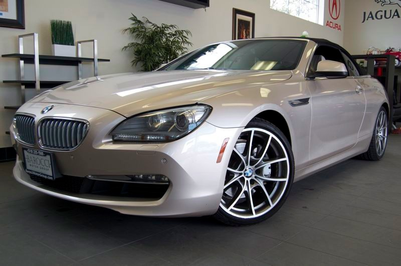 2012 BMW 6 Series 650i 2dr Convertible 6-Speed Automatic Champagne Tan This is an immaculate mod