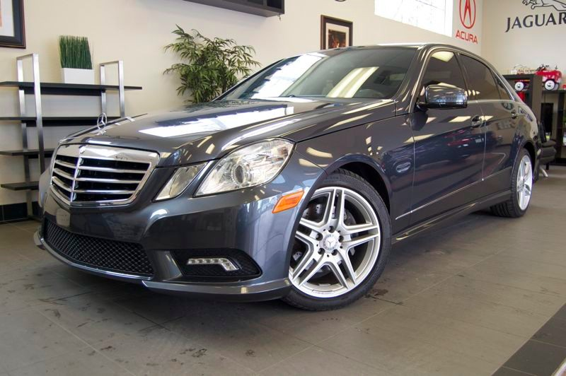 2011 MERCEDES E-Class E350 Luxury 4dr Sedan 7 Speed Auto Gray Black This One Owner California ve