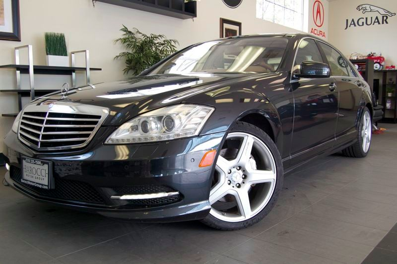 2011 MERCEDES S-Class S550 4dr Sedan 7 Speed Auto Black Tan Comes with all the options including