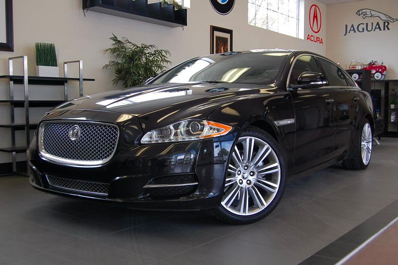 2011 Jaguar XJL 4dr Sedan 6 Speed Auto Black Brown Absolutely amazing vehicle with all the optio