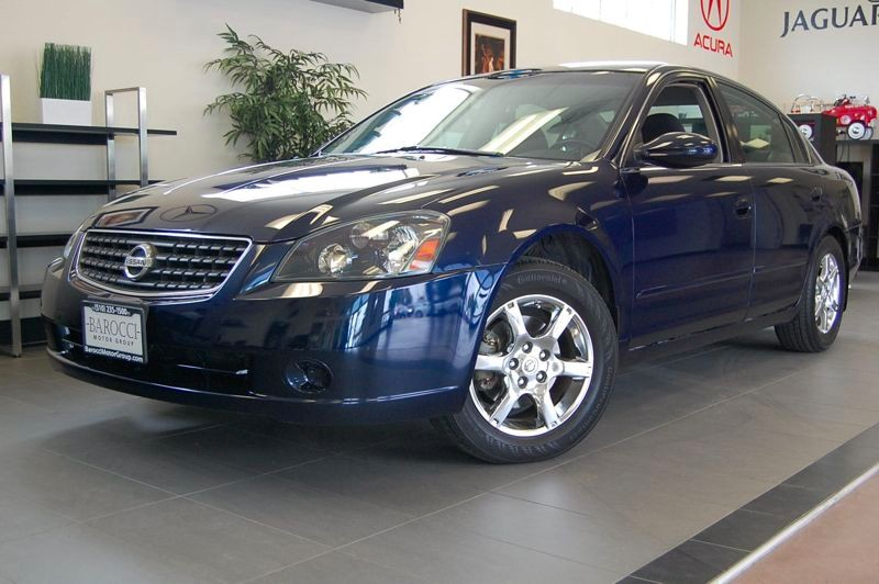 2006 Nissan Altima 25 S 4dr Sedan Automatic Blue Charcoal Great sedan complete with power drive