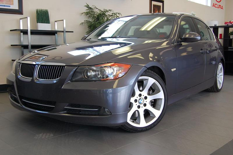 2007 BMW 335i Sedan Sport  Premium Pkg Automatic wSteptronic Gray Gray This is a beautiful 3
